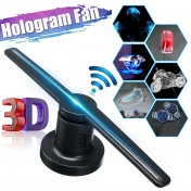 3D hologram projektor 384 LED fan, WiFi, SD karta
